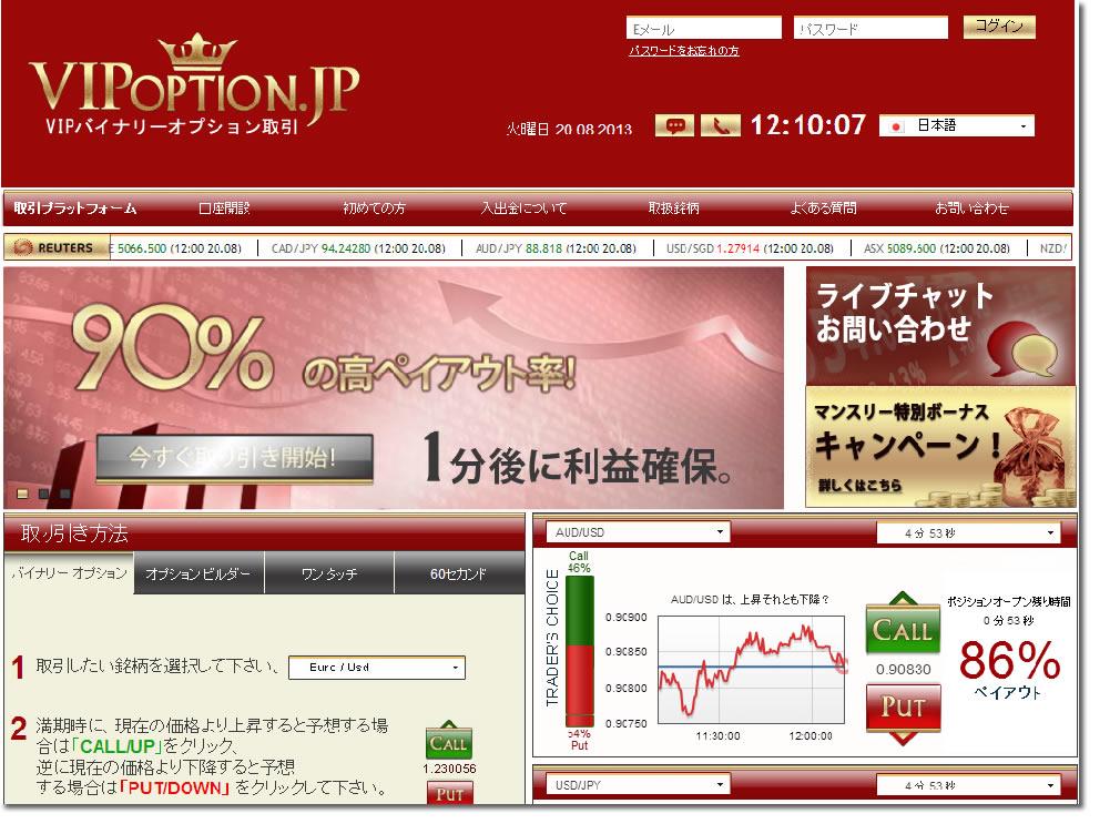 vipoptionの公式サイトから最短3分の簡単口座開設ができる方法を伝授します