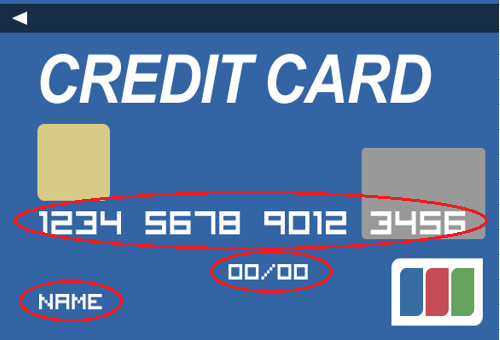 カード情報の送信